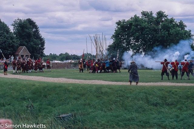 Precisa ct-100 colour  slide film pictures - Another scene from the battle