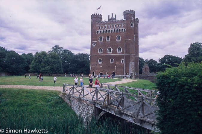 Precisa ct-100 colour  slide film pictures - Tattershall castle