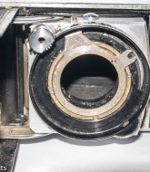 Kodak Retina IIc with shutter removed from body