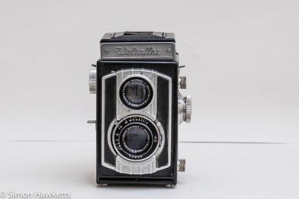 Weltaflex Twin Lens Reflex camera - front view
