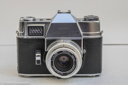 Kodak Retina Reflex III 35mm slr camera - front view