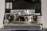 Zeiss Ikon Contina I 35mm viewfinder folding camera - Shutter and aperture settings