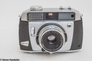 Balda Baldamatic I 35mm rangefinder camera - front view