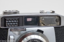 Balda Baldessa 1B 35mm rangefinder camera - some damage to the rangefinder window
