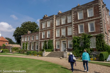 Gunby Hall holiday pictures with fuji x-t1 - Mum & Jan by Gunby Hall