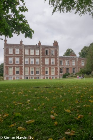 Gunby Hall holiday pictures with fuji x-t1 - With a wide angle lens