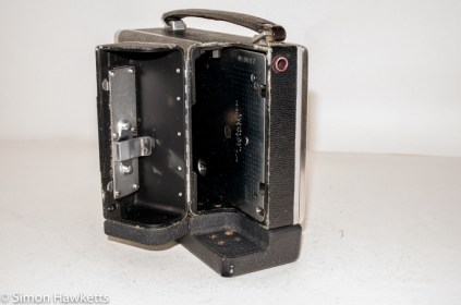 Bell & Howell 200EE cine camera - film compartment open