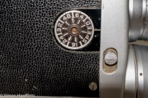 Bell & Howell 200EE cine camera - frame rate setting