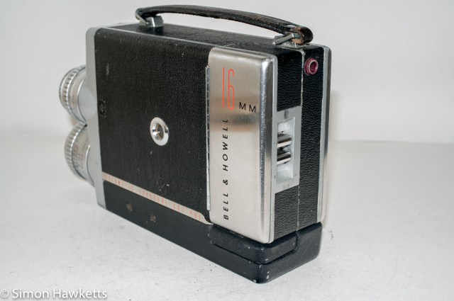 Bell & Howell 200EE cine camera - rear view