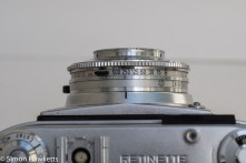 Kodak Retinette 1B 35mm viewfinder camera - shutter speed settings