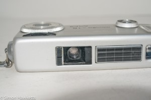 Minolta 16 MG miniature 16mm camera - lens open