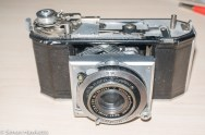 Agfa Karat 12 re-assembly - ready for rangefinder