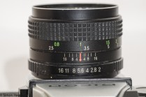 Ricoh TLS 401 35mm slr - aperture and focus rings
