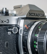 Miranda DX-3 35mm manual focus 35mm camera - self timer switch