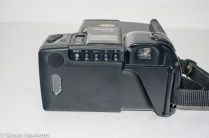 Ricoh Mirai 105 35mm slr camera - Back view showing control buttons