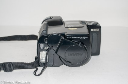 Ricoh Mirai 105 35mm slr camera - Camera with lens cap fitted