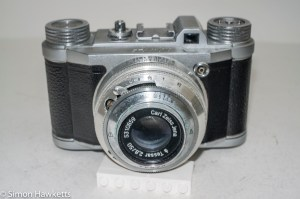 Altissa Altix IV 35mm viewfinder camera - front view