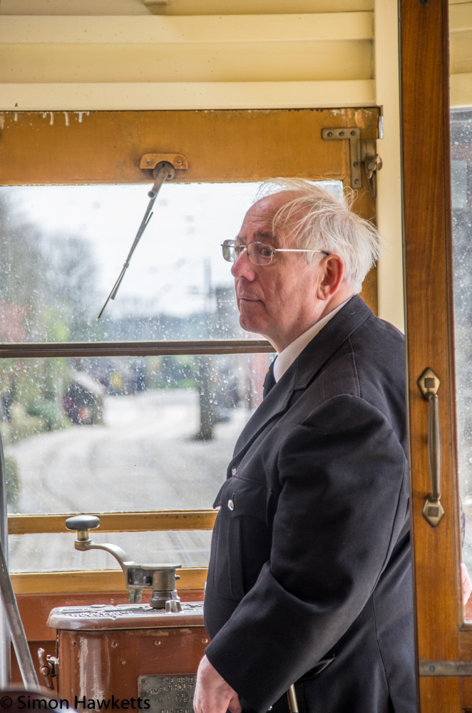 Crich tramway museum - driver