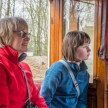 Crich tramway museum - Jan and Emma