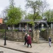 Crich tramway museum - tea rooms in the museum