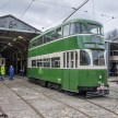 Crich tramway museum - the tram yard