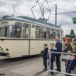 Crich tramway museum - waiting for tram