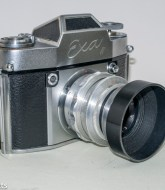 Exakta Exa II 35mm slr camera - flash sync socket