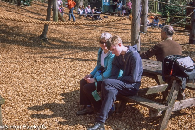 Pentax Z-1P & Agfa CT-100 slide film - Chatsworth house play area