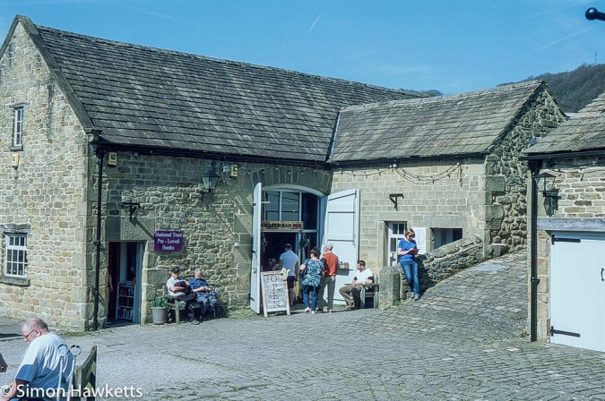 Pentax Z-1P & Agfa CT-100 slide film - Eyam Hall craft shop