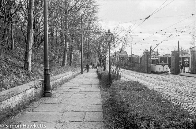 The tramway museum at Crich in Derbyshire