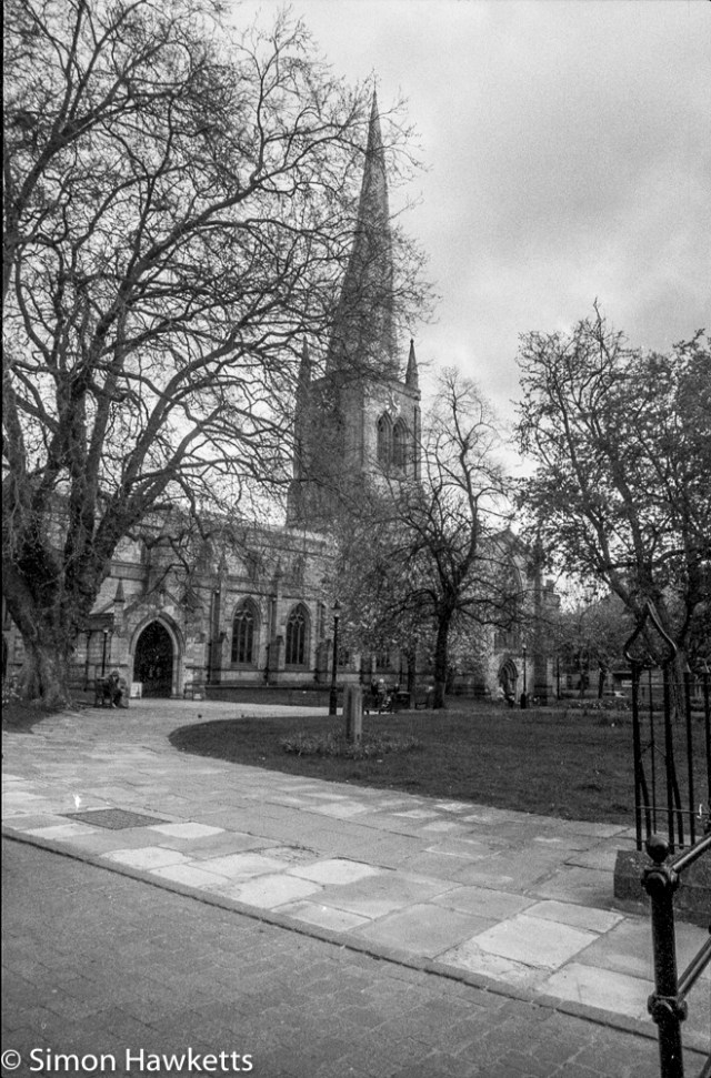 Pentax Program A sample pictures - Chesterfield church