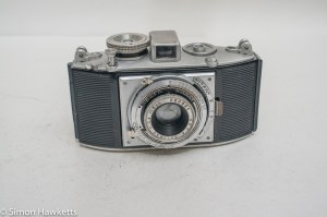 Agfa Karat f/3.5 viewfinder camera - Front view