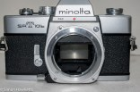Minolta SRT101b 35mm slr camera - front view without lens