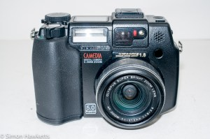 Olympus Camedia C-5050 digital camera - front view