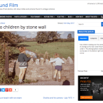 An update on the Found Film site