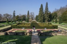 Chatsworth house pictures - the maze