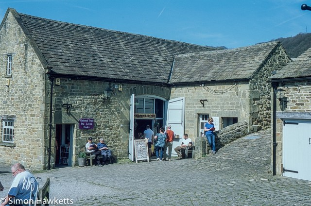 Eyam Hall Pictures - The bookshop