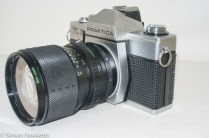 Praktica TL3 35mm camera - side view