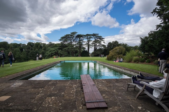 Upton House Fuji X-T1 Pictures - The swimming pool at Upton House