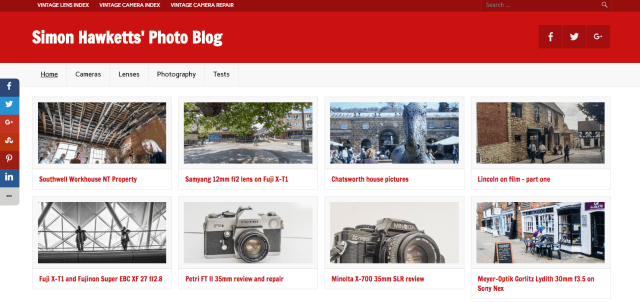 Seld hosted wordpress: Photoblog new look