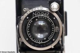 Nagel Vollenda compur shutter and lens