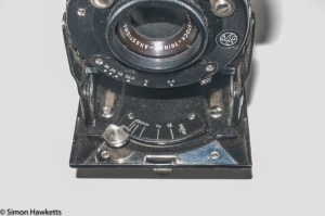 Rodenstock Folding Camera - view focus setting