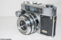 Beauty Beaumat 35mm rangefinder - side view showing focus