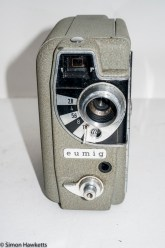 Eumig Electric 8 Cine Camera - Front view