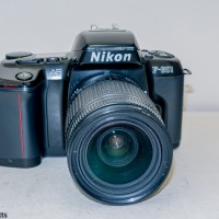 Nikon F-601 autofocus 35mm slr camera