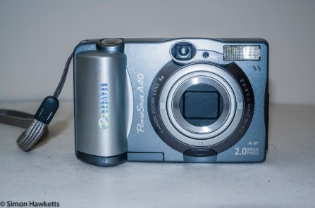 Canon PowerShot A40 - Front of camera