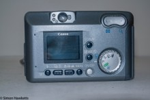 Canon PowerShot A40 - Rear panel