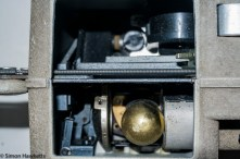 Eumig P8m 8mm Silent Projector - Lamp housing