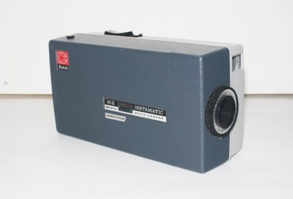 Kodak Instamatic M2 cine camera - Film loading door