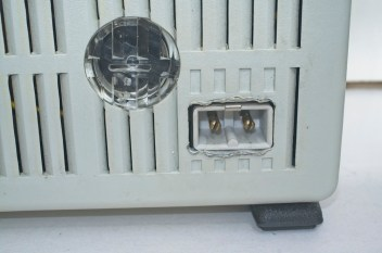 Chinon Universal 8 projector - Power connector